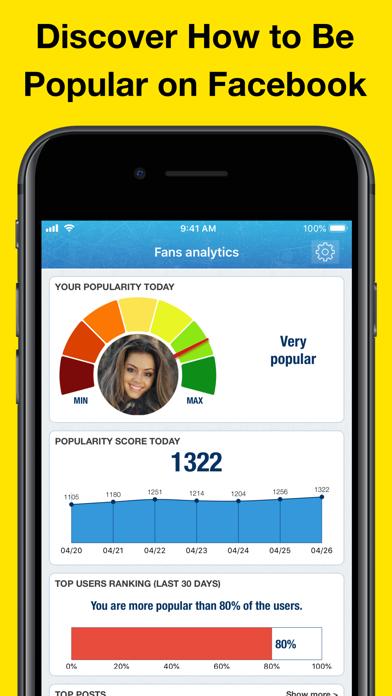 MyTopFans Pro - Social Tracker app image