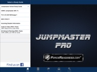 Jumpmaster PRO Study Guide ipad images