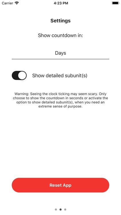 Memento Mori App screenshot-4
