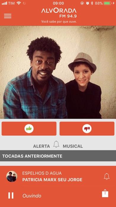 Rádio Alvorada FM | BH screenshot one