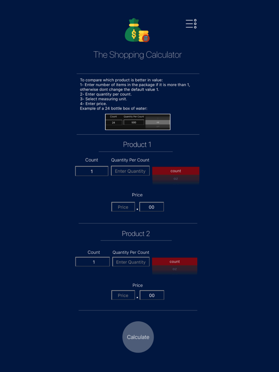 The Shopping Calculator screenshot 3