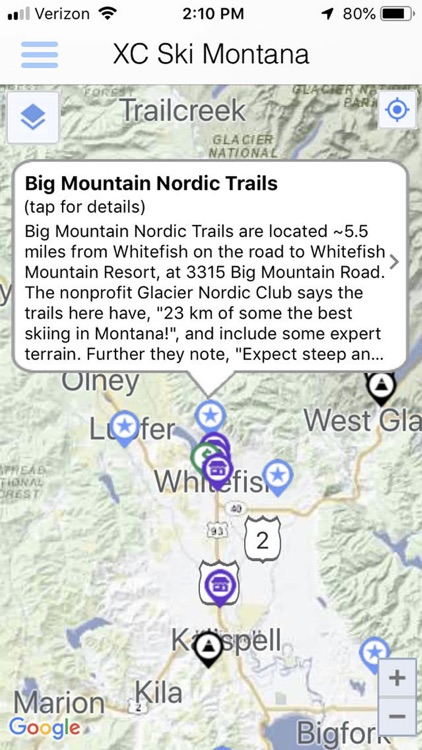 Cross Country Ski Montana screenshot-3
