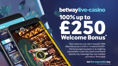 Betway- Live Casino & Roulette screenshot one