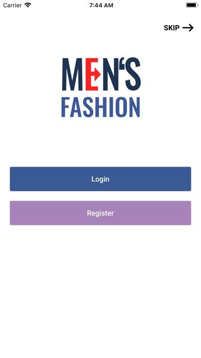 Man Gradients Clothing Shop screenshot #1