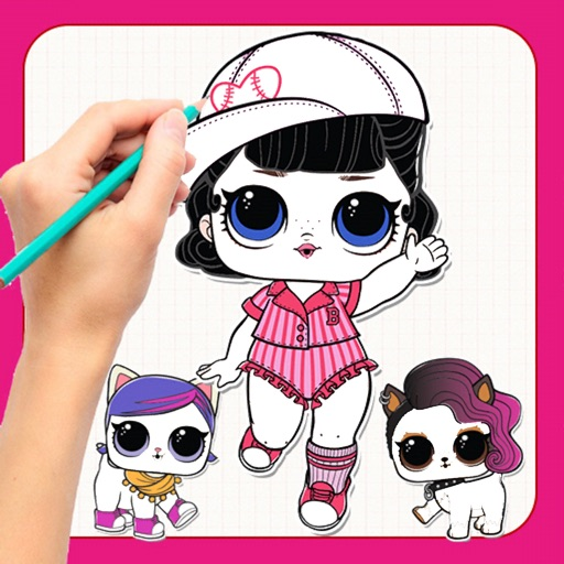 LOL Dolls - How To Draw