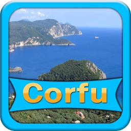 Corfu Island Offline Map Guide