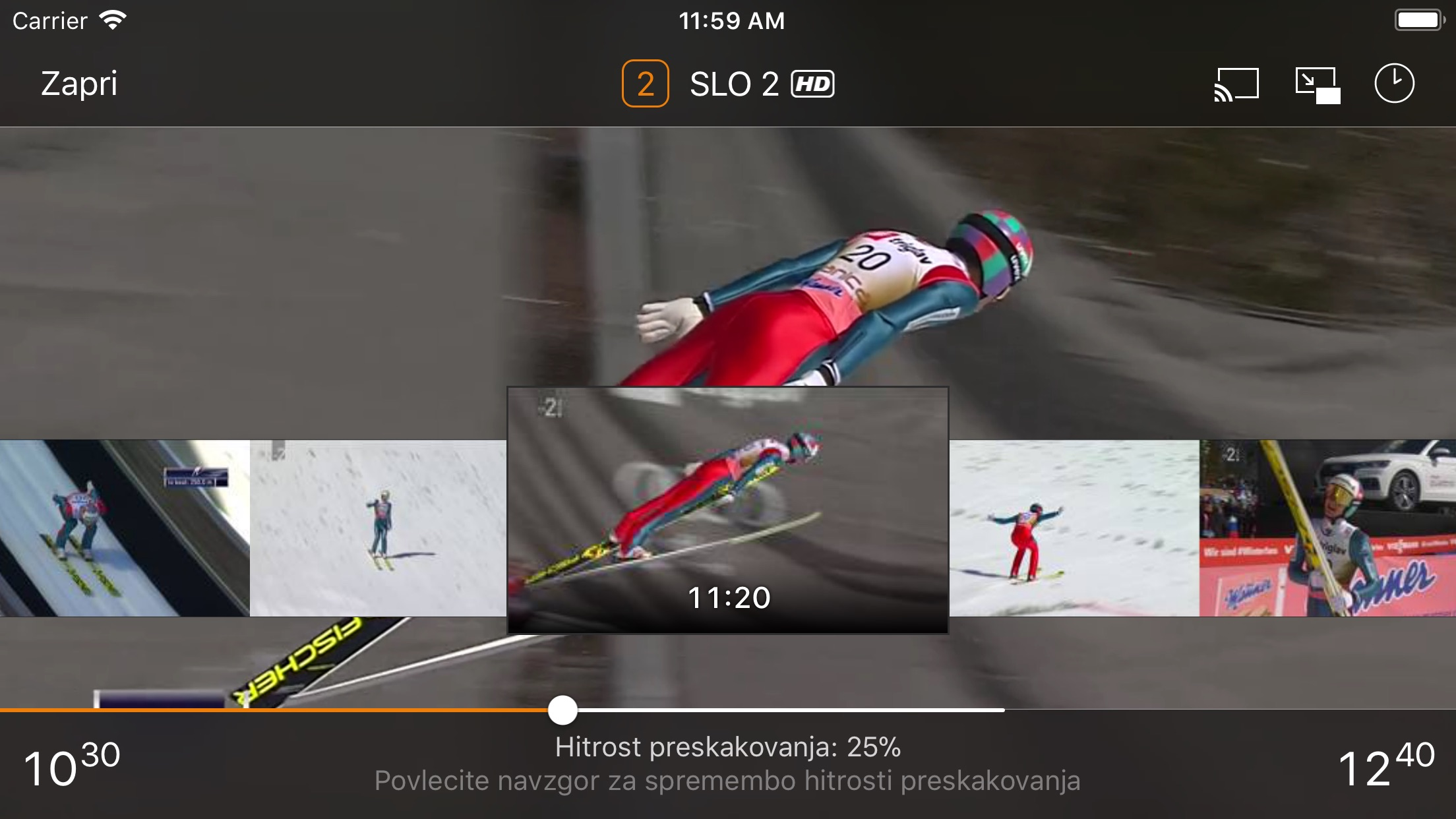 T-2 tv2go Screenshot