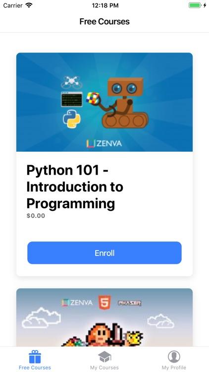 Zenva - Learn Programming
