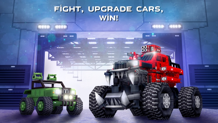 Blocky Cars Online - tank wars screenshot-5