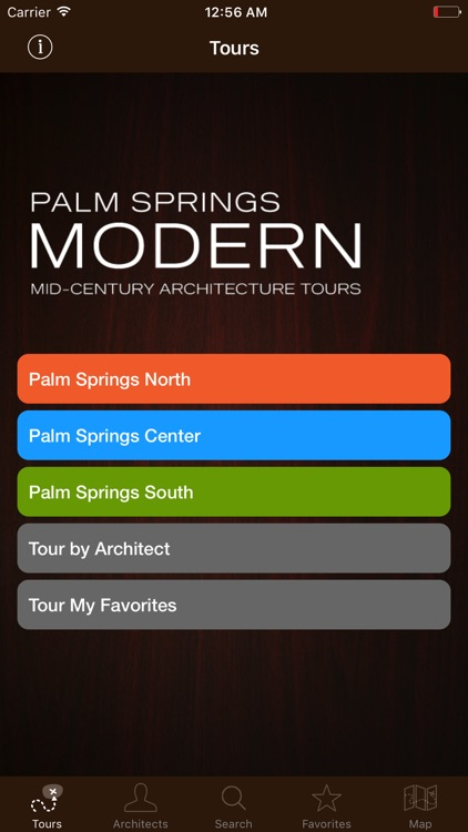 Palm Springs Modernism Tour