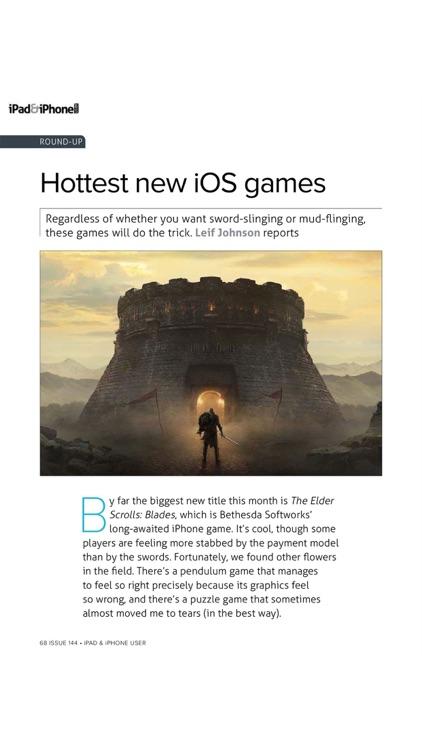 iPad & iPhone User magazine. screenshot-8