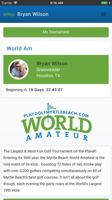 2019 Myrtle Beach World Am Screenshot