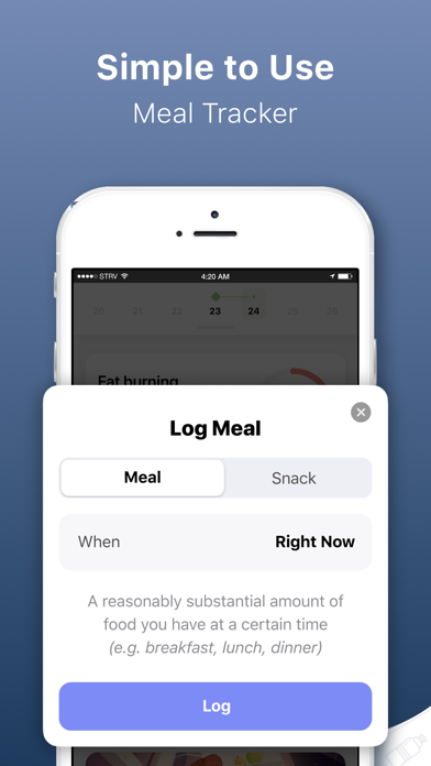 Simple: Fasting & Meal Tracker screenshot 5