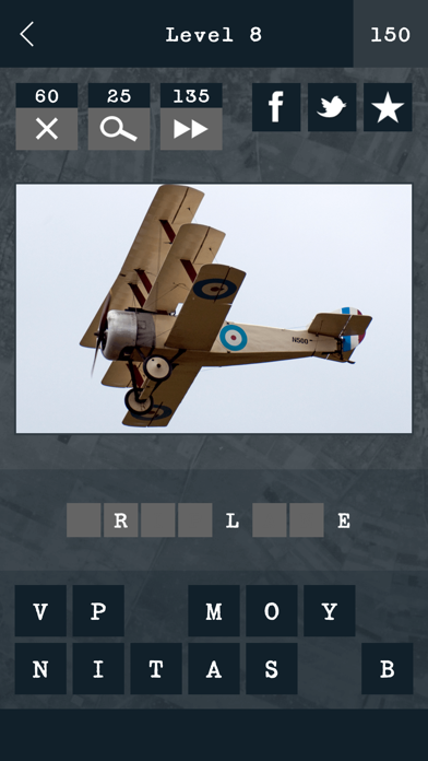 Guess the Military Aircraft screenshot one