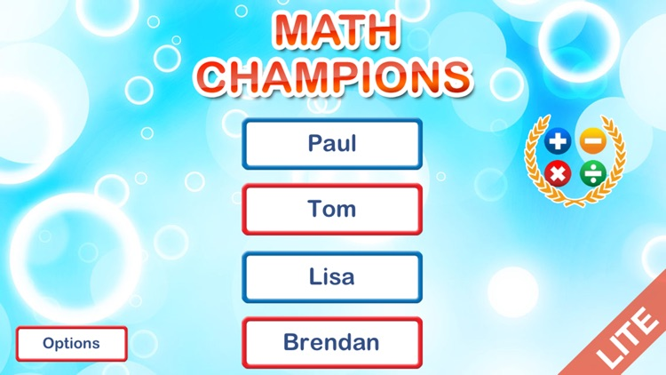 Math Champions lite for kids screenshot-3