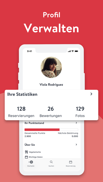Screenshot for OpenTable in Germany App Store