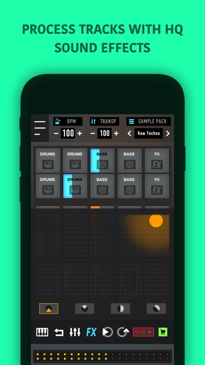 Mixpads-Drum Pads DJ Mixer PRO screenshot-3
