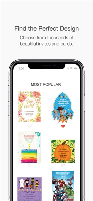 Punchbowl: Invitations & Cards on the App Store