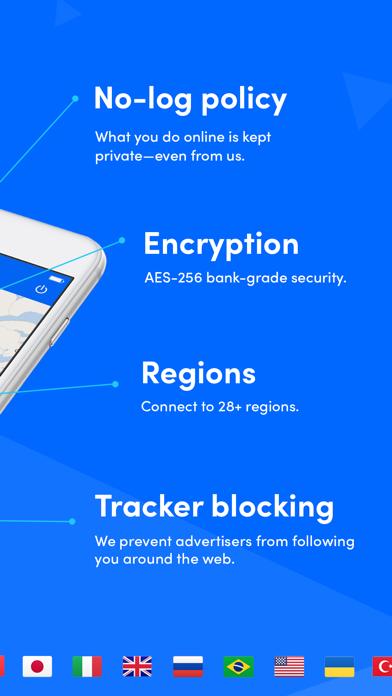 SurfEasy VPN - WiFi Proxy ScreenShot1