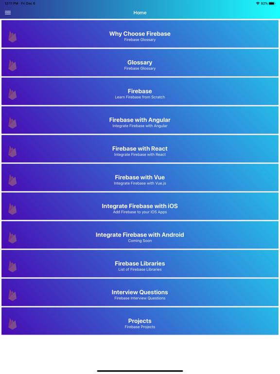 Learn Firebase [PRO] screenshot 9