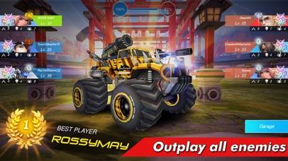 Overload: Car Shooting Racing screenshot 2