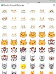 Best Cat Stickers WAStickerApp ipad images