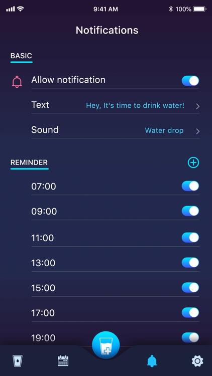 Drink water: Drinking reminder screenshot-4