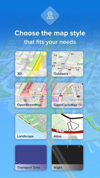 Bikemap - Cycling Map & GPS screenshot-4