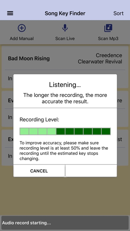 Song Key Finder screenshot-4