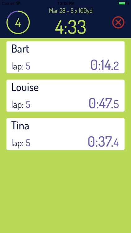 Team Timer Basic screenshot-7