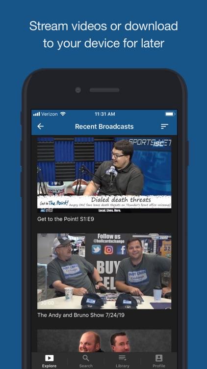 ISC Sports Network screenshot-3