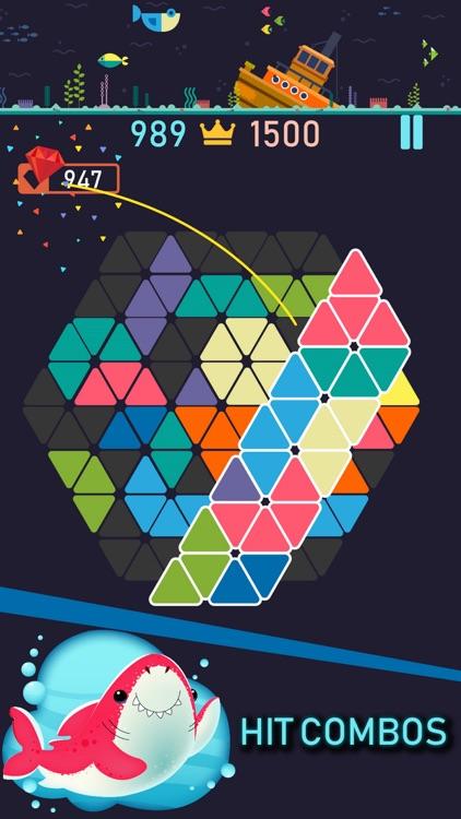 Trigon : Triangle Block Puzzle