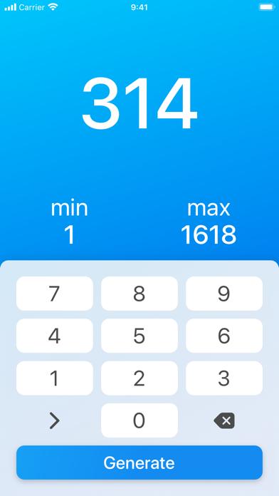 Random (Number Generator) Screenshots