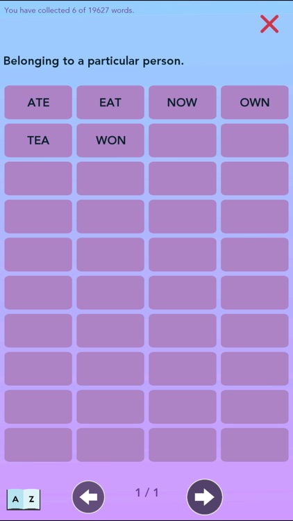 Wordrobe Crossword Game screenshot-4