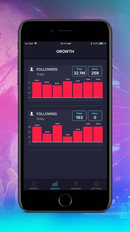 Tik Metrics - Likes & Fans