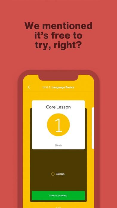 Rosetta Stone: Learn Languages Screenshot