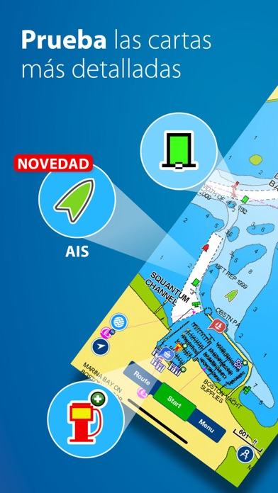 Screenshot for Boating mares y lagos in Mexico App Store