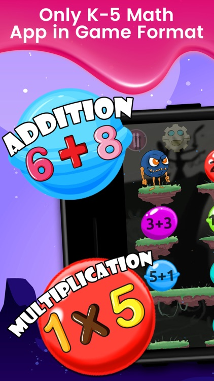 Monster Math : Kids Fun Games screenshot-0