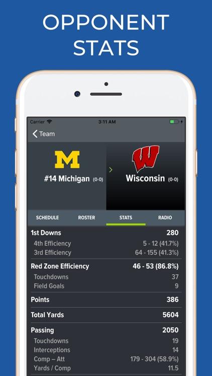 Michigan Football Schedules screenshot-8