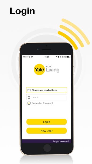 Yale Home View app screenshot one