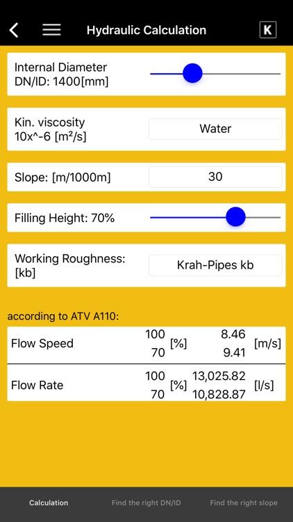 KRAH Pipe Calculation