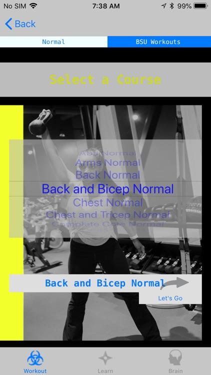 BSU Workouts
