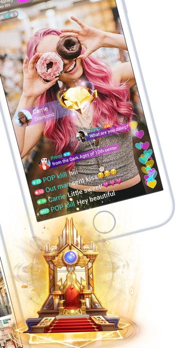 Screenshot for LiveMe – Live Video Chat in United States App Store