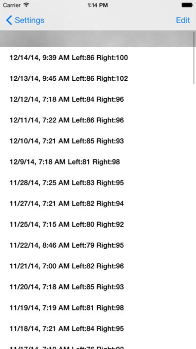 CNS Tap Test screenshot four
