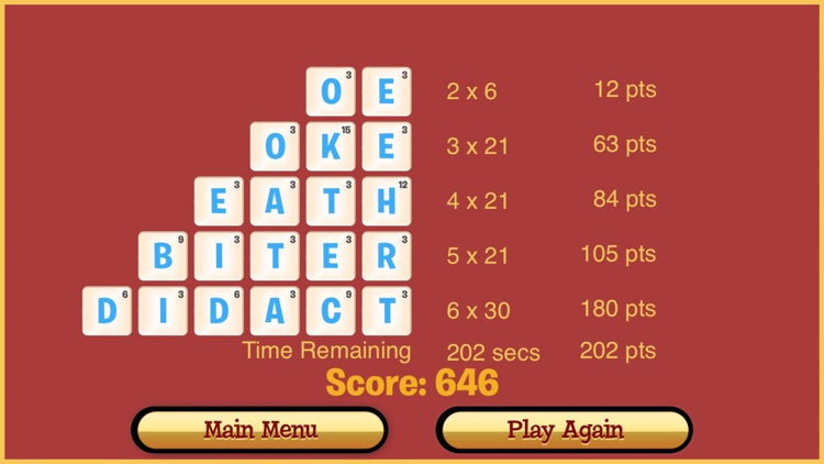 Dabble A Fast Paced Word Game screenshot-3