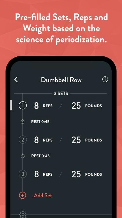 Fitbod Gym & Home Workout Log screenshot-7