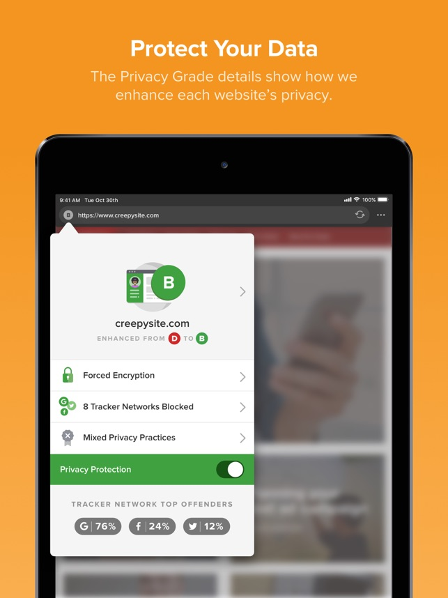 DuckDuckGo Privacy Browser on the App Store