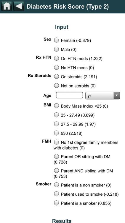 EBMcalc Nutrition screenshot-5