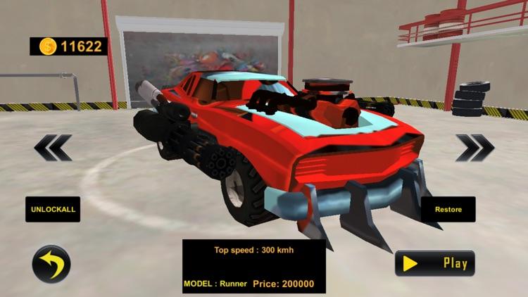 Car Shooting Game:Battle Crash screenshot-7
