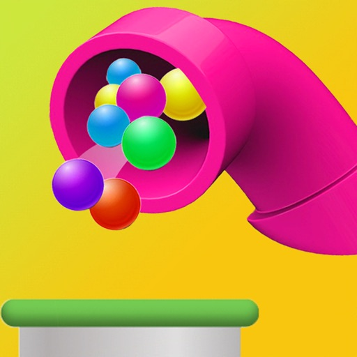 Color Pull The Pin Flow 3D
